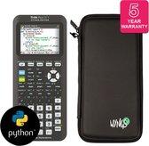 TI-84 Plus CE-T Python Edition + verlengde garantie + Beschermhoes