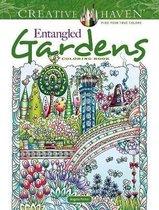 Creative Haven Entangled Gardens Coloring Book