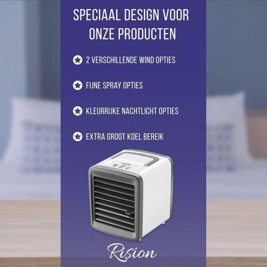 Mini Airco – Mobiele Airco – Ventilator – Aircooler – Koelsysteem – Luchtkoeler – Nachtlamp