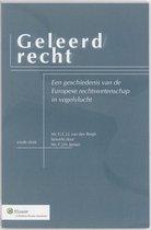 Boek cover Geleerd Recht van G.C.J.J. van den Bergh