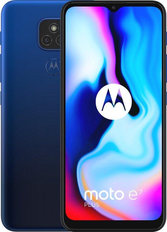 Motorola Moto E7 Plus - 64GB - Misty blue