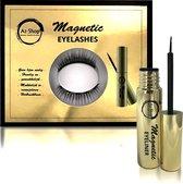 Magnetische Eyeliner met 3D Magnetische Wimpers - Nepwimpers - Herbruikbaar - Zwart