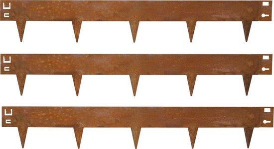 Multi-Edge kantopsluiting Cortenstaal 100x17,5 cm - per 5 stuks