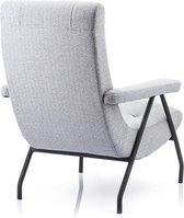 Fauteuil Victor Eleonora, fauteuil victor antraciet, fauteuil antraciet