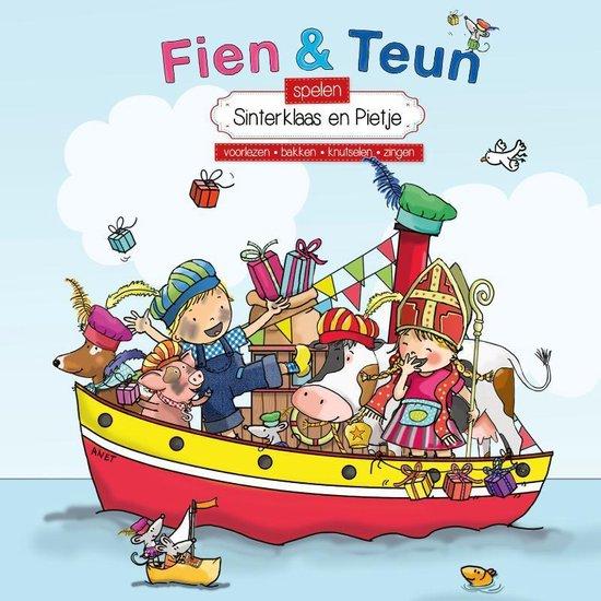 Boek cover Fien en Teun  -   Fien & Teun spelen Sinterklaas en Pietje van van Hoorne (Hardcover)