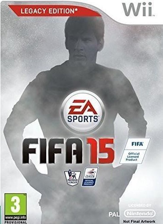 FIFA 15 - Legacy Edition - Wii - Electronic Arts
