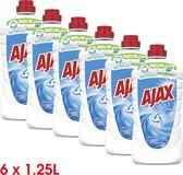 Ajax Allesreiniger Fris 6 x 1.25L - Voordeelverpakking