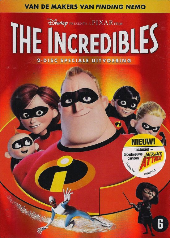 Cover van de film 'The Incredibles'