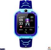 Sanbo® Q12 - Kinder Smartwatch - Blauw - Nederlandstalige smartwatch - LBS