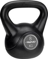 Avento Kettlebell - 8 kg - Zwart