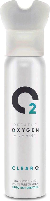 ClearO2 Zuurstoffles 15L Twinpack - Mini zuurstofcilinder
