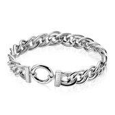 Zinzi zilveren gourmet armband 20cm ZIA974