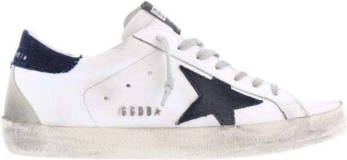 Superstar Leather Denim Heren  maat 45 Wit