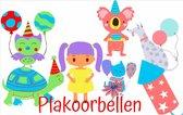 30- Dagen- Kinder-Plak-Oorbel-Geen gaatje-Girl-Extra plak dots