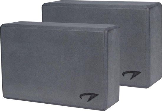 Avento Yoga Blok Set van 2 - Foam - Grijs