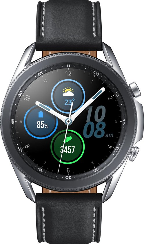 Samsung Galaxy Watch3 - Smartwatch - Stainless Steel - 45mm - Zilver