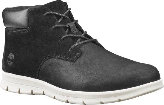 Timberland Graydon Leather Chukka Heren Sneakers - Black - Maat 44