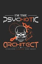 Psychotic architect: 6x9 Architect - dotgrid - dot grid paper - notebook - notes