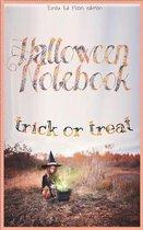 Halloween notebook. Trick or treat