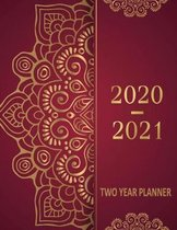 2020-2021 Two Year Planner: 24 Months And Monthly Calendar, Business Planners, Agenda Schedule Organizer Logbook and Journal, 2 Year Appointment C