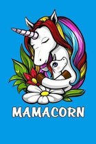 Mamacorn: Unicorn Mom Notebook