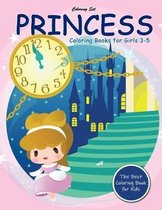 Princess Coloring Books for Girls 3-5: Lovely Princesses Fairy Tale Coloring Book for Kids Ages 3-5