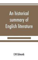 historical summary of English literature