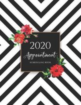 2020 Appointment Scheduling Book: Stripes Pattern - Schedule Organizer - Appointment Book 15 Minute Increments - Client Organizer - Monday to Sunday 8