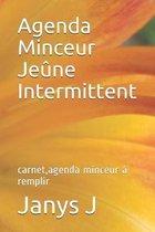 Agenda Minceur Je�ne Intermittent: carnet, agenda minceur � remplir