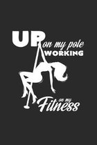 working on my fitness pole: 6x9 Pole Fitness - grid - squared paper - notebook - notes