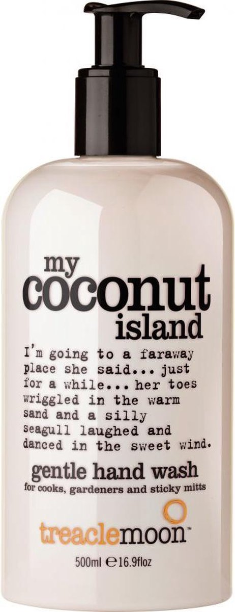 Bol Com Treaclemoon Handzeep My Coconut Island 500 Ml