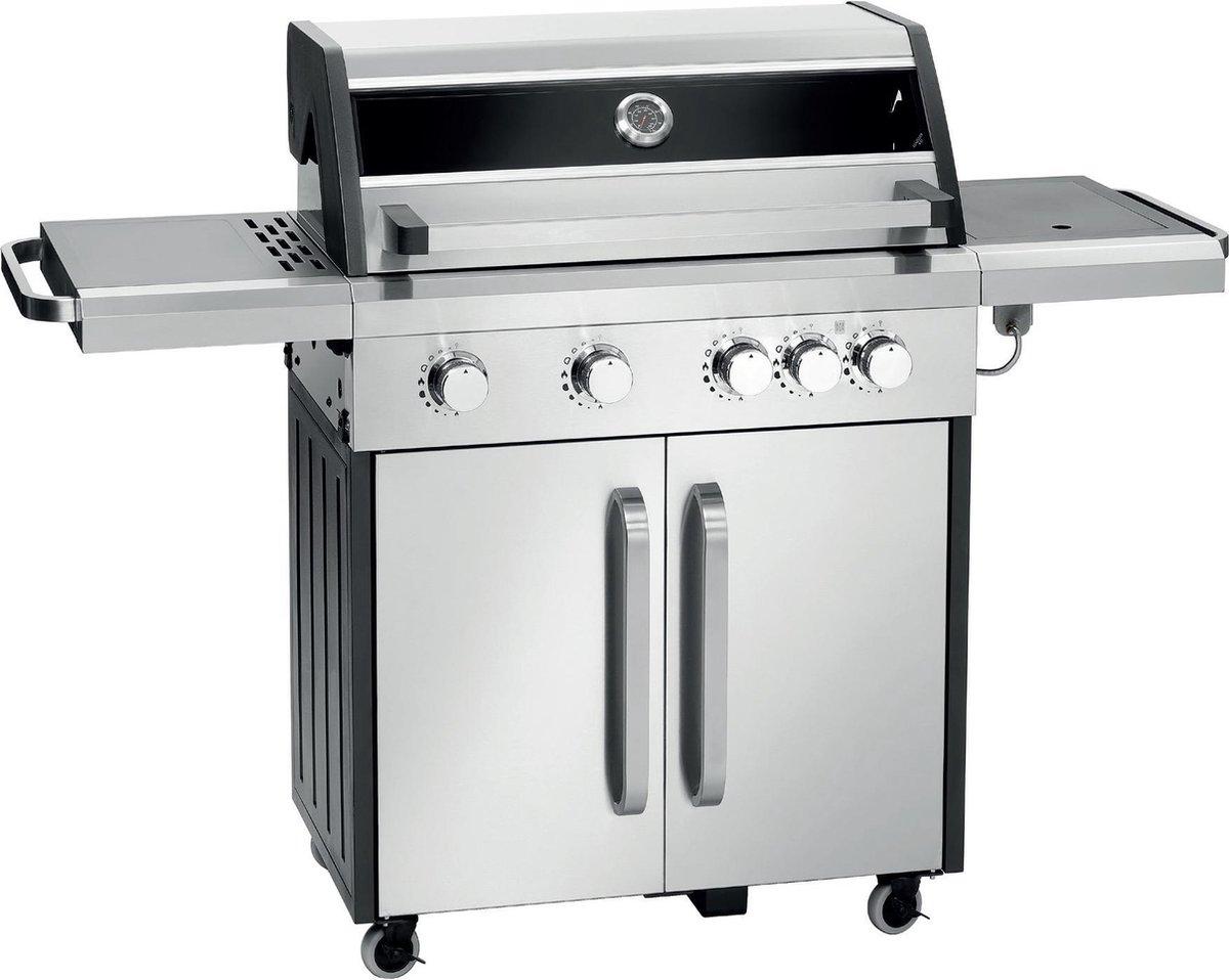 Chef Idee CI4FL gasbarbecue 4 branders en zijbranderkookplaat