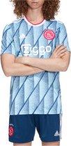 adidas Ajax Uitshirt 2020-2021 Mannen - IJsblauw - Maat M