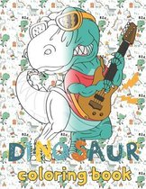 dinosaur coloring book for 5 year old
