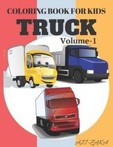 Coloring Book For Kids Truck