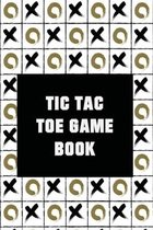 Tic-Tac-Toe Game Book (1000 Games)