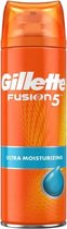 Gillette Fusion5 Ultra Moisturizing Scheergel Mannen - 6x200ml Voordeelverpakking