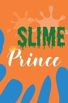 Slime Prince: Wide Ruled Composition Notebook for Boys