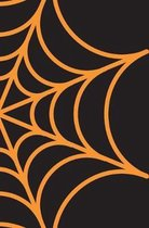 Spooky Halloween Notebook: Spider Web Notebook