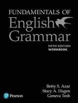 Fundamentals of English Grammar Workbook with Answer Key, 5e