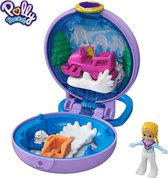 Polly Pocket Tiny Compact Polly Skihuisje