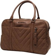 Little Company Amsterdam Quilted Luiertas - Cognac