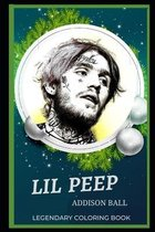 Lil Peep Legendary Coloring Book