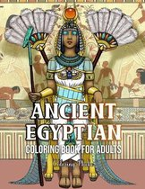Ancient Egyptian Coloring Book for Adults