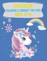 Unicorn Coloring & Connect the dots ages 10-14