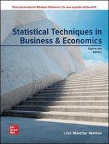 Boek cover ISE Statistical Techniques in Business and Economics van Douglas Lind