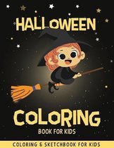 Halloween Coloring Book For Kids: Funny & Cute Coloring Pages For Kids - Halloween Drawing Book - Halloween Children's Activity Books - Halloween Gift
