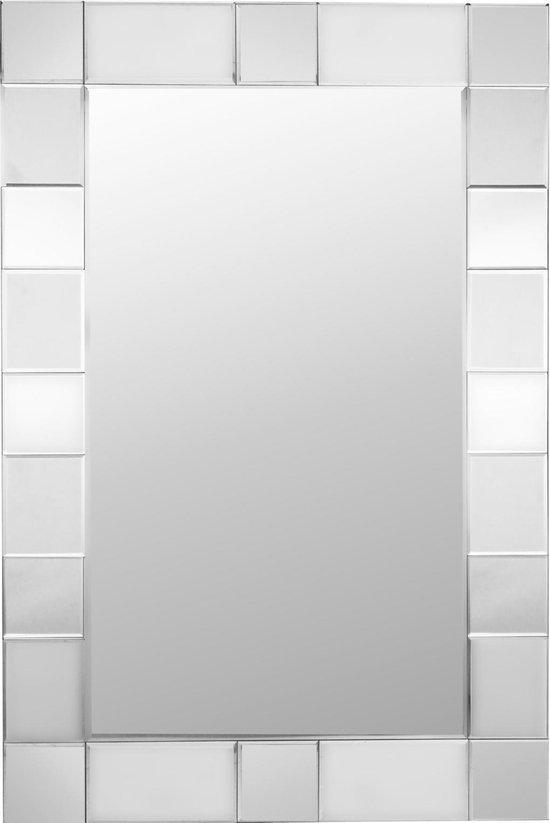 Passpiegel Modern Zilver 80x120 cm – Lennart – Stijlvol – Praktisch