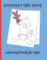 Connect the Dots Coloring Book for Kids
