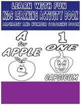 Learn With Fun Kids Learning Activity Book